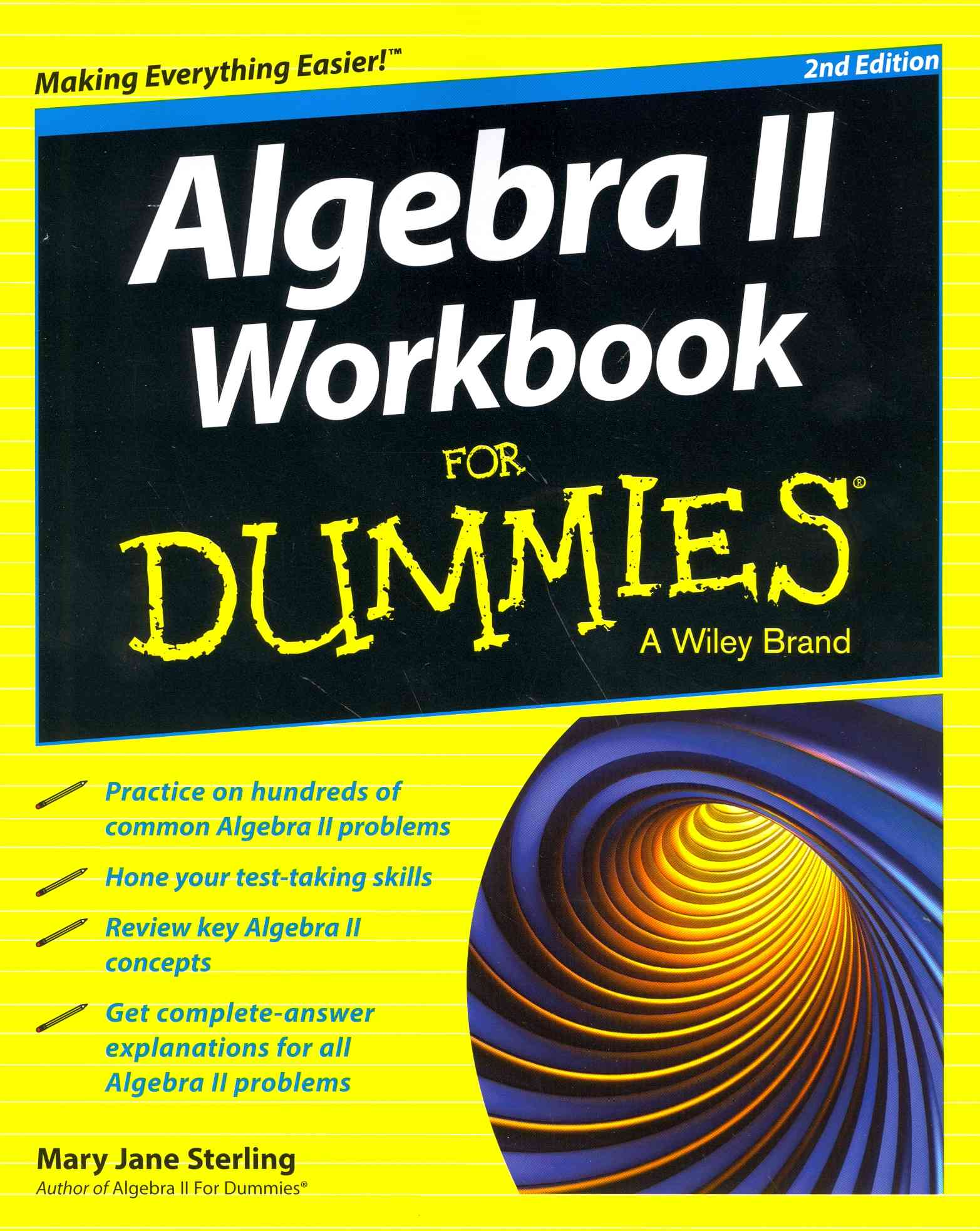 Algebra II Workbook for Dummies By Consumer Dummies (COR)